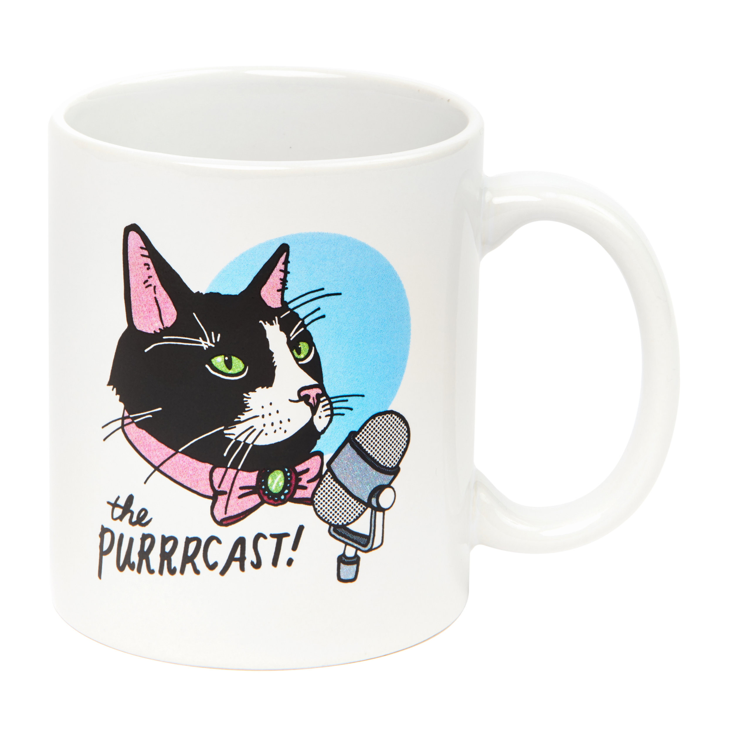 The Purrrcast: Mug $18.00