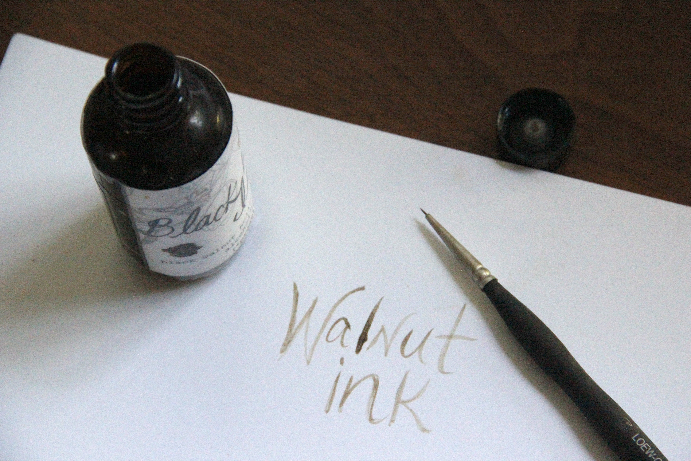 Forage the greenway for walnuts and make some ink today.
