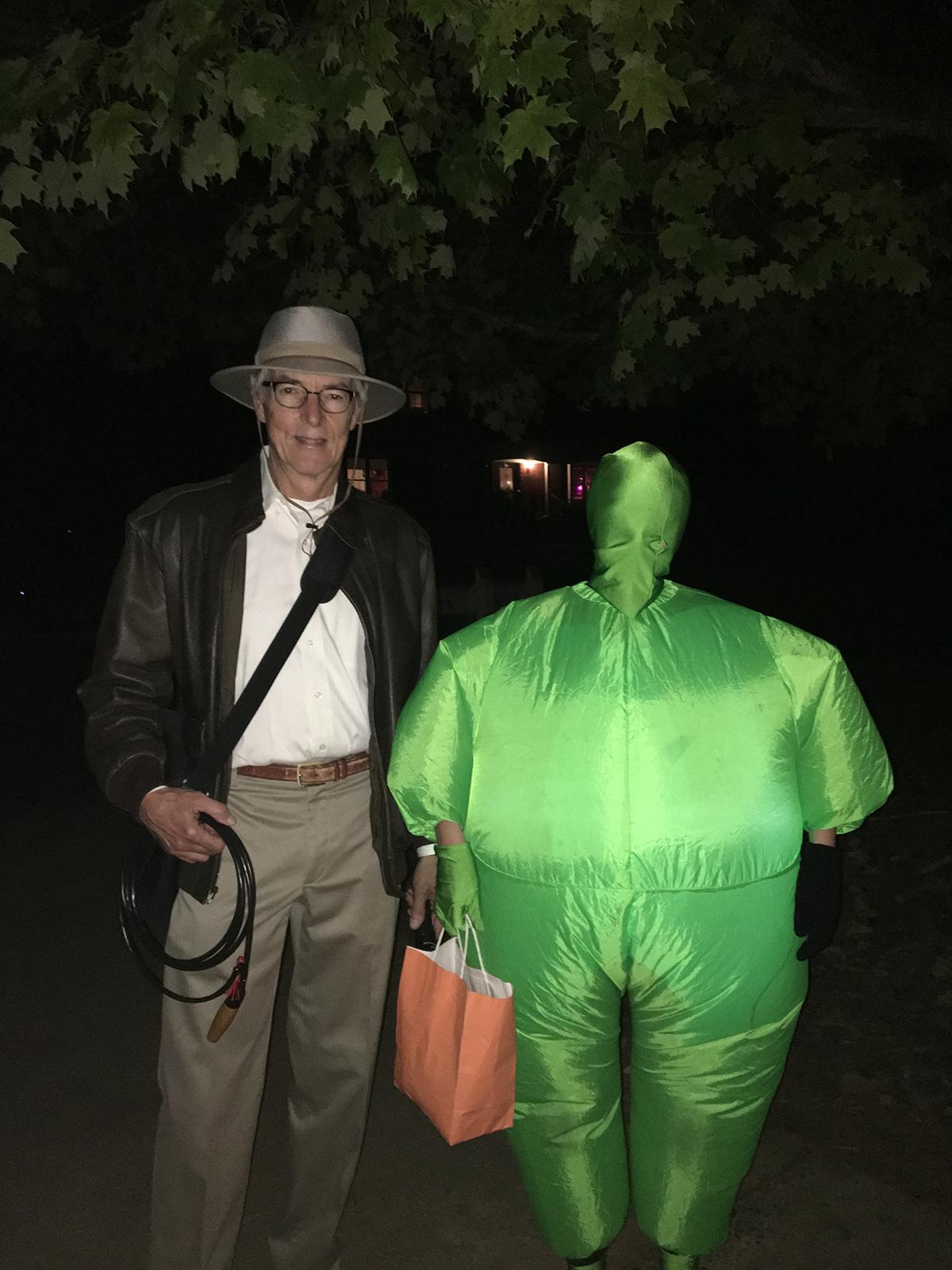 halloween indiana and green guy.jpg
