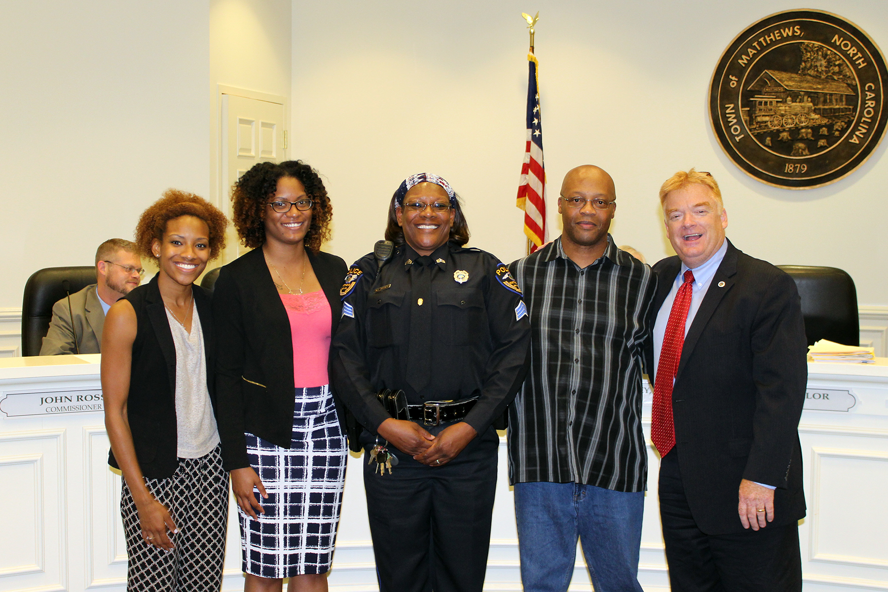 Sgt. Archer was recognized for her promotion during a 2017 Board of Commissioners meeting.