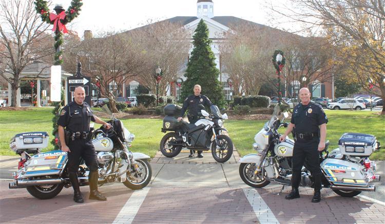 Image courtesy Matthews Police Department