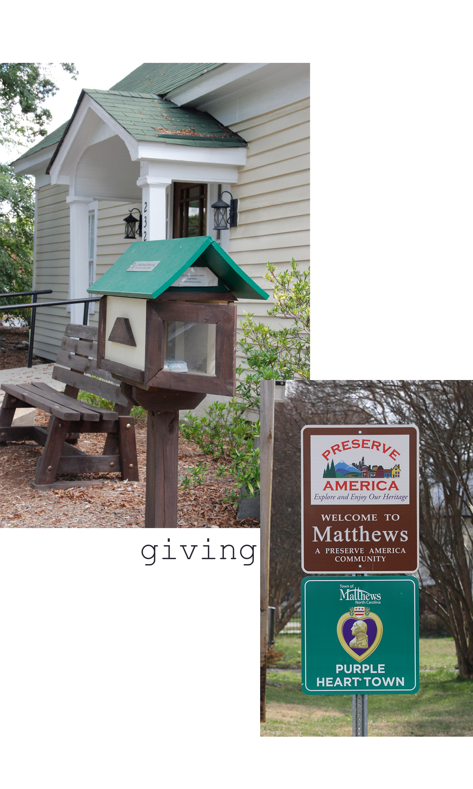 Matthews is Giving. With hundreds of nonprofits in Matthews, the support for philanthropy is significant. -