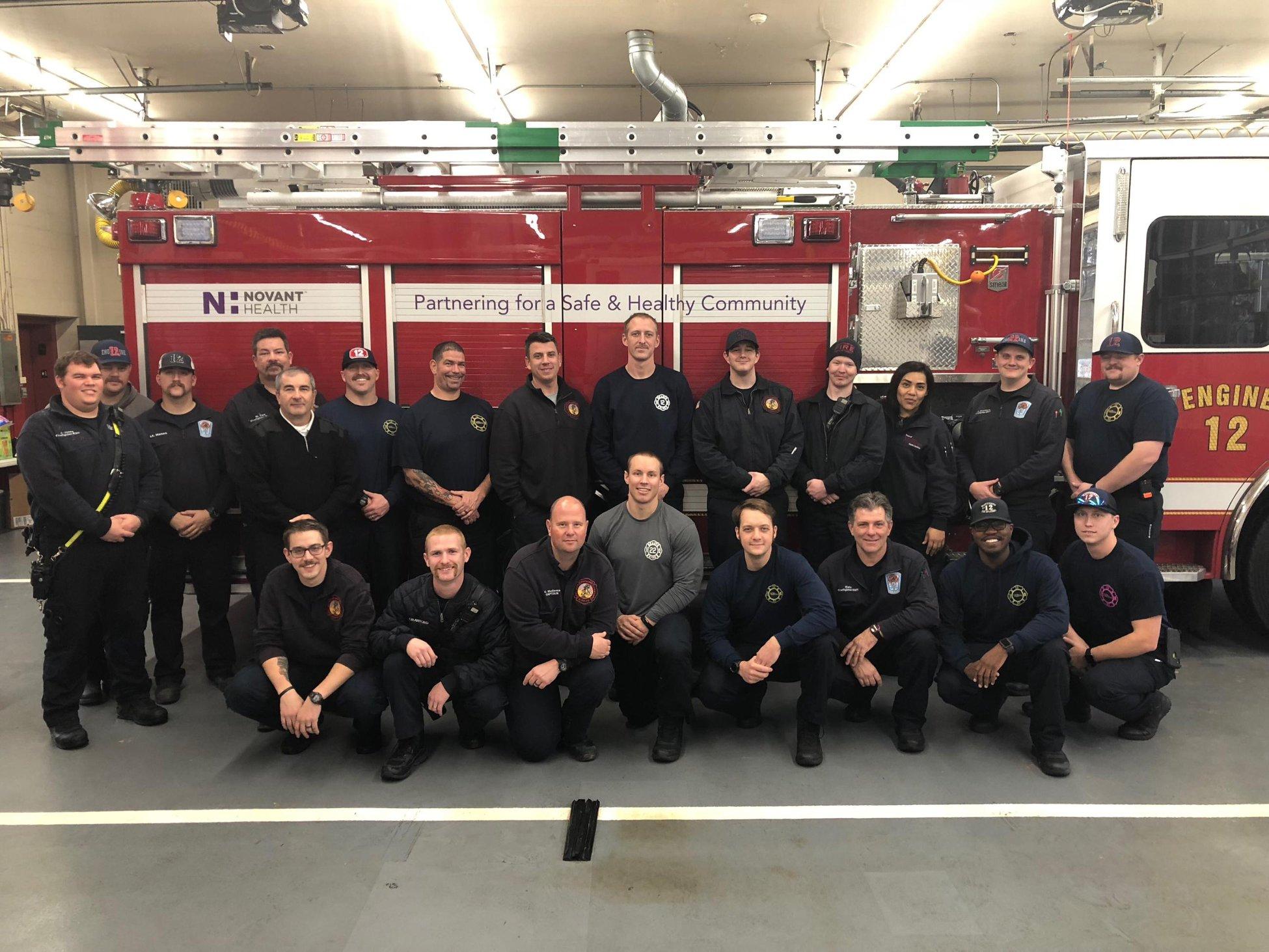 Photo courtesy the Matthews Fire & EMS Department