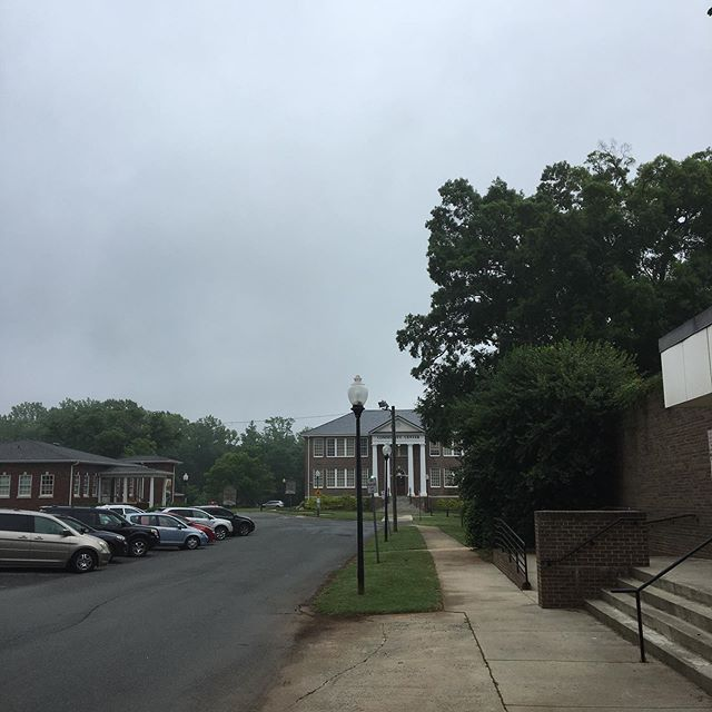 Someone forgot to send out the drizzle memo. #weather #matthewsnc