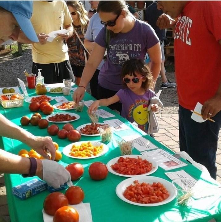 Image via    Matthews Community Farmer's Market
