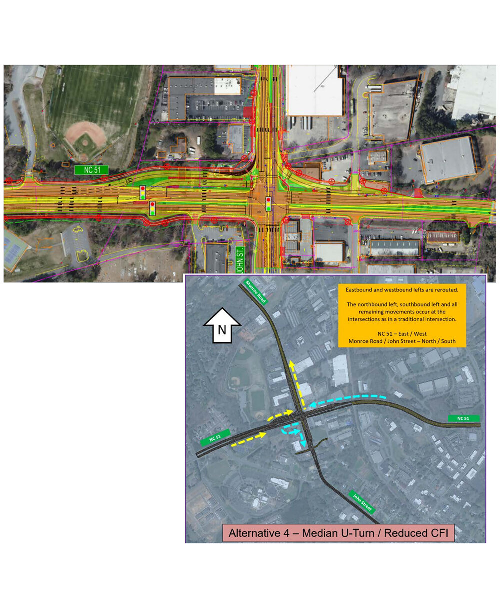 News About Town: Town staff has been working on a Reduced Continuous Flow Intersection design to replace the Partial Continuous Flow Intersection at John St. and Highway 51. The design was presented during Monday night's meeting. The Board decided the designs need further consideration before an approval is made. -