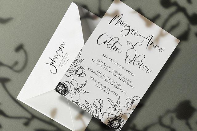 the morgan collection ✨ this beauty would look amazing on any color card stock!!🌸 • • • • • • • • • • • • •  #weddingphotographer #weddingphotographers #engaged #howheasked #thedailywedding #theknot #loveauthentic #weddingchicks #stylemepretty #creativeentrepreneur #justengaged #weddinginspo #wedding #thatsdarling #intimatewedding #couplesgoals #weddingwire #wedding #weddinginvitations #weddingstationery #invitations #invitationsuite #bride #groom #love #invites #bridetobe #etsy #etsyshop #etsyseller