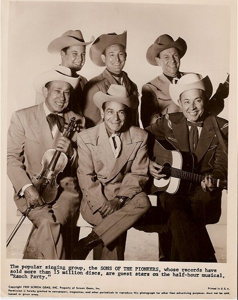 1958 Sons Of The Pioneers On RANCH PARTY  TV.jpg