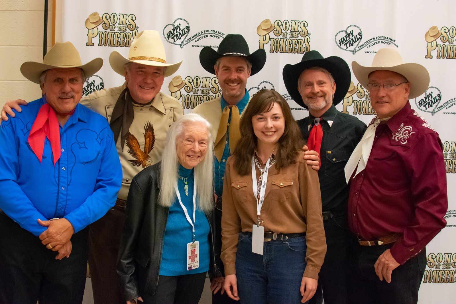 We were delighted to have our pictures taken with the great singer Marilyn Tuttle (left) and K.J. Bruce, author of the Western Reservior blog.