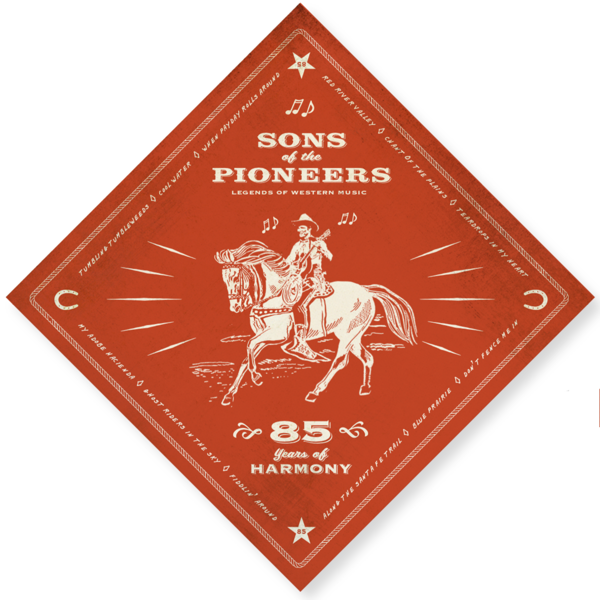Coming (very) soon: the new Sons of the Pioneers CD! -