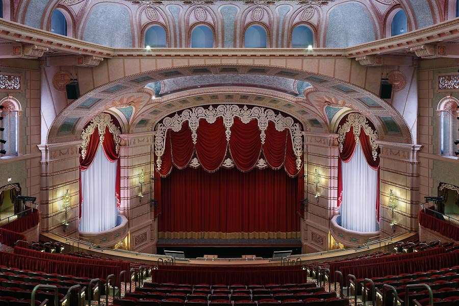 The Paramount Theater, Cedar Rapids, Iowa