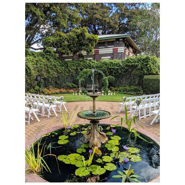 Scott and Erin put together a stunning garden ceremony at Newstead House in Brisbane's inner suburbs. It's such a peaceful spot - you would never know there was a Bunnings right across the road!