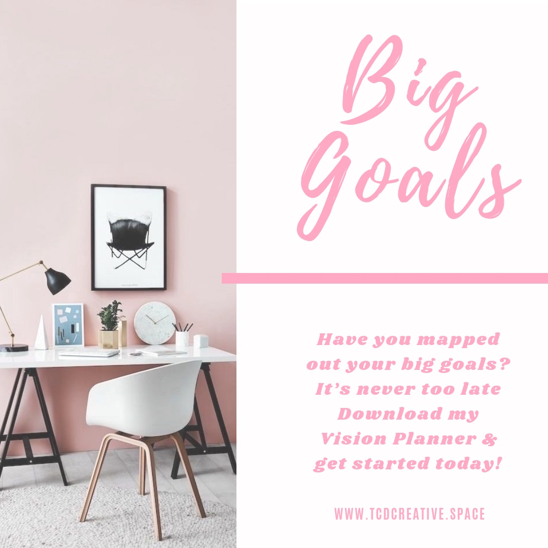 Do you have your goals - for the year planned out? Do you even goal set? It's super important in order to keep you on the right track and to stay true to your vision. I know the years already started, but it's not too late to start planning. It's never too late!