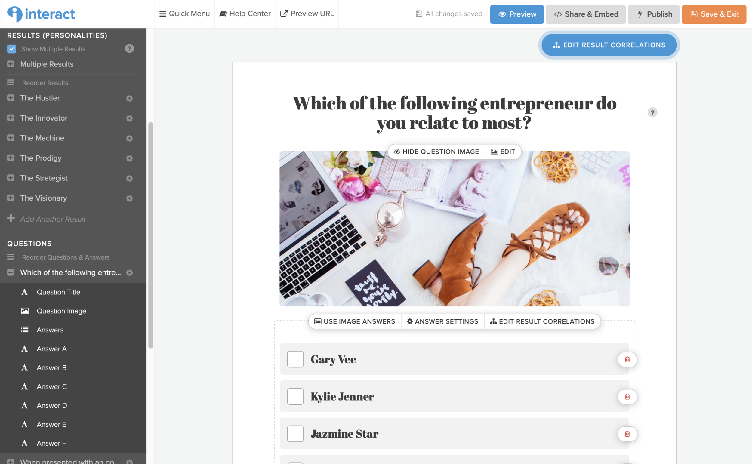 create your own quiz to generate traffic for your business