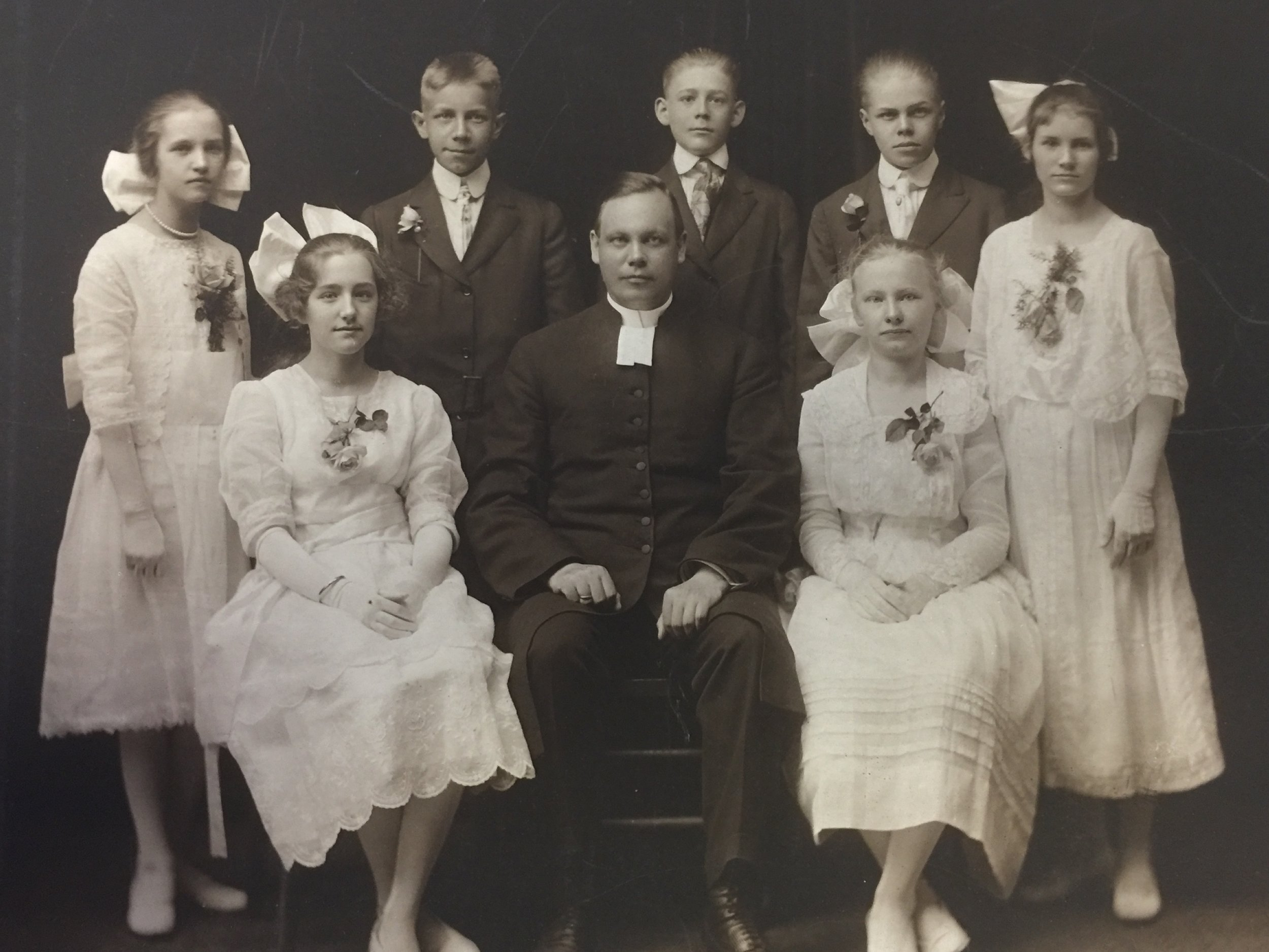 Confirmation class of 1918