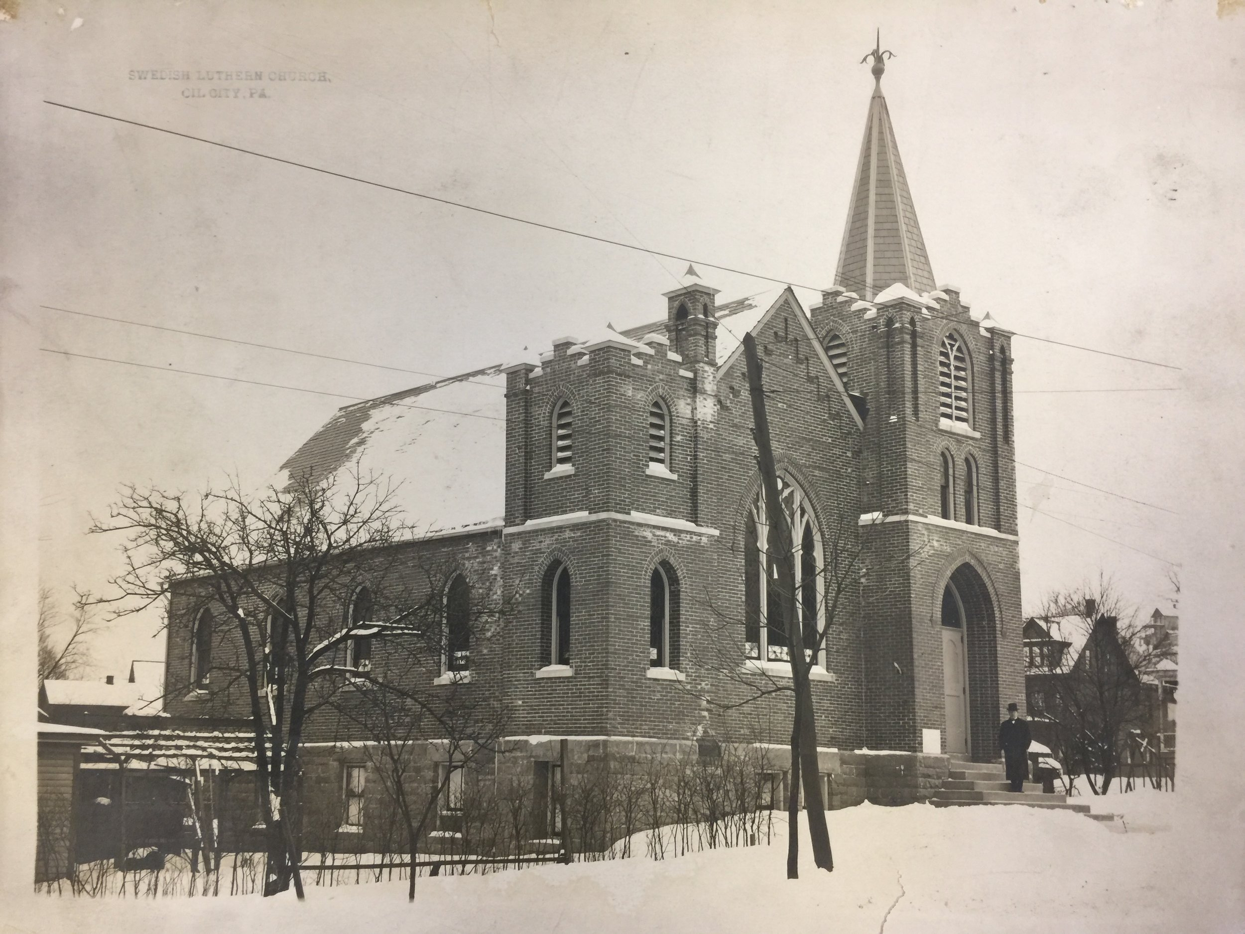 Completed Zion Lutheran Church - circa. 1907-1908