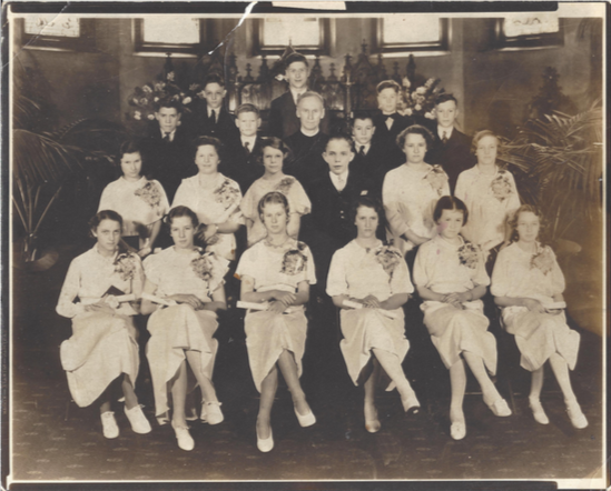 Confirmation Class of 1935