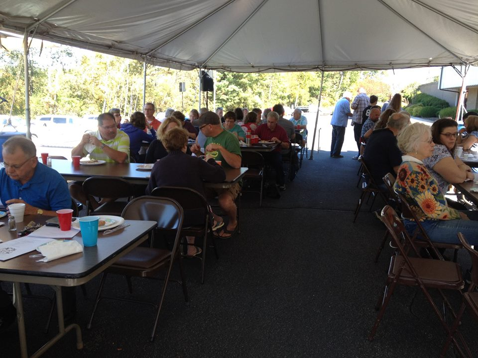 Octoberfest 2017 - Community and Church members together in fellowship.