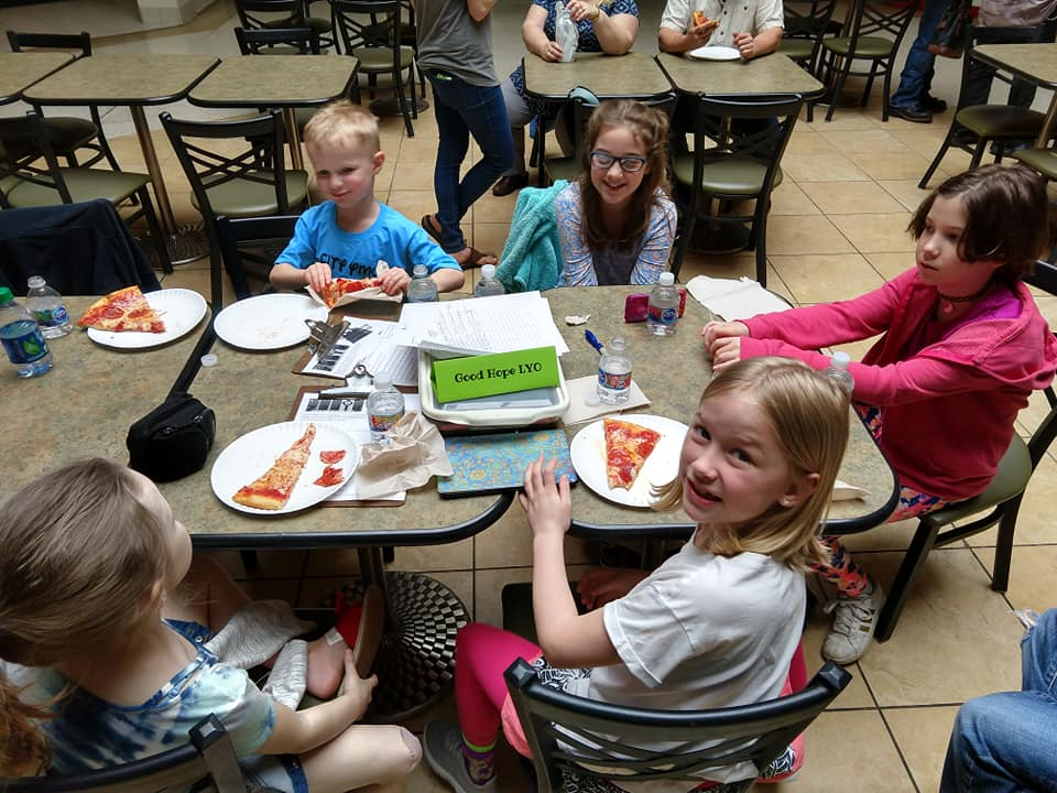 LYO May event - Pizza party at the Mall