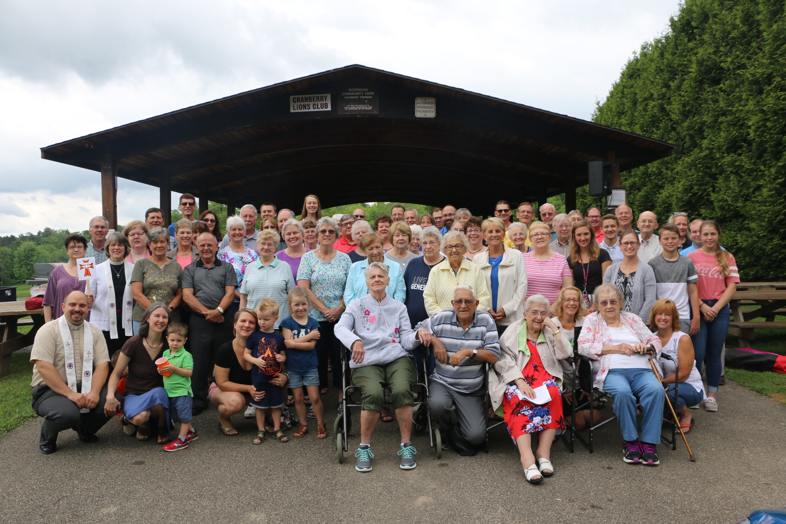 2018 Shared Ministry picnic and worship - Photo Sam McDowell
