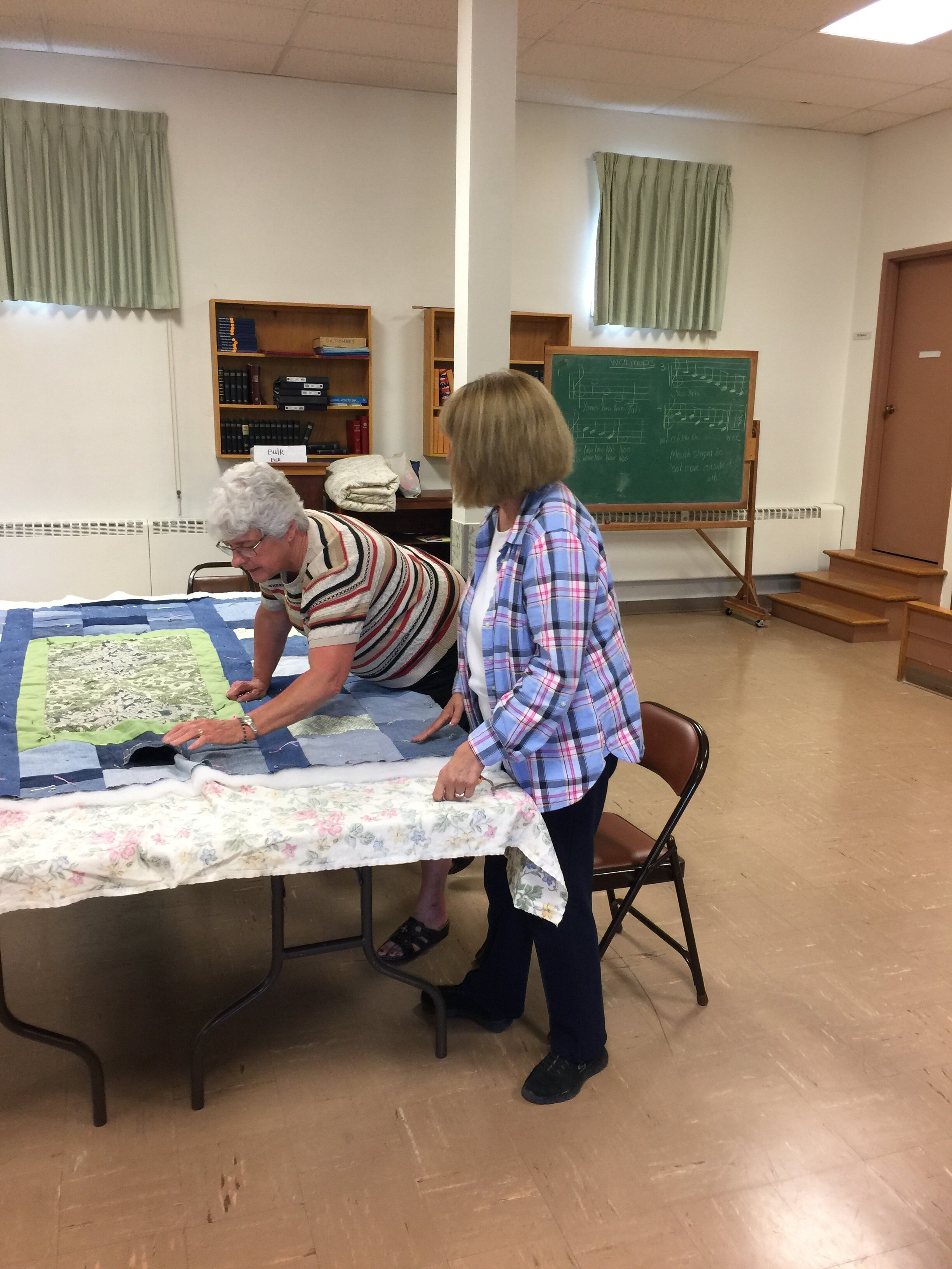Day of Service quilt project - September 2019