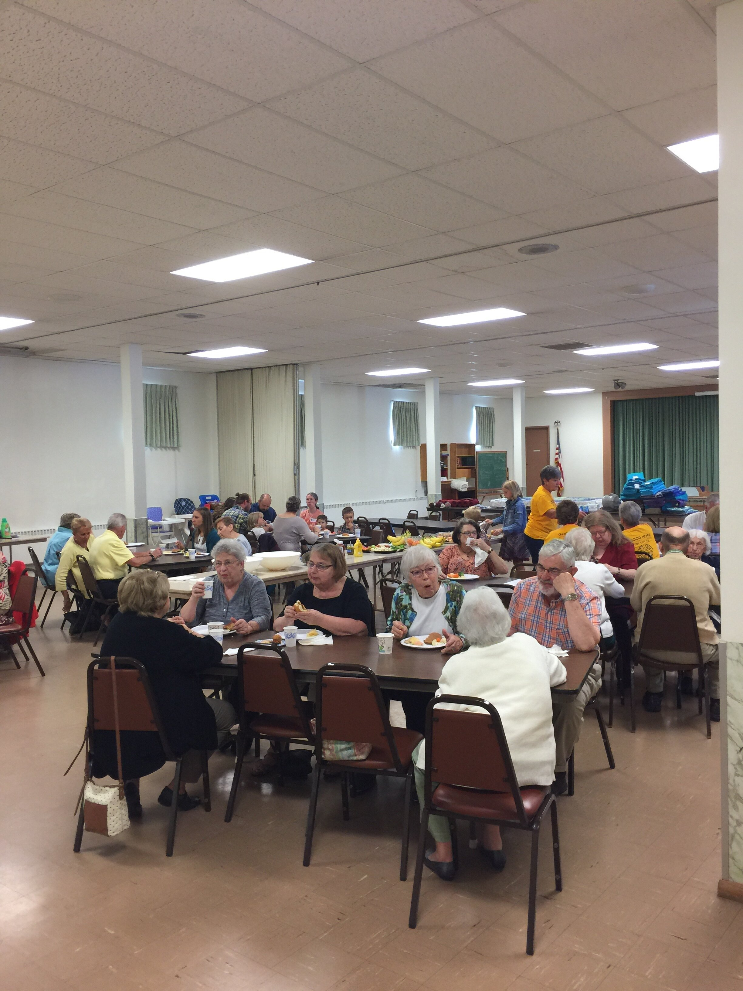 ELCA Day of Service Luncheon with Zion Lutheran Church - September 2019