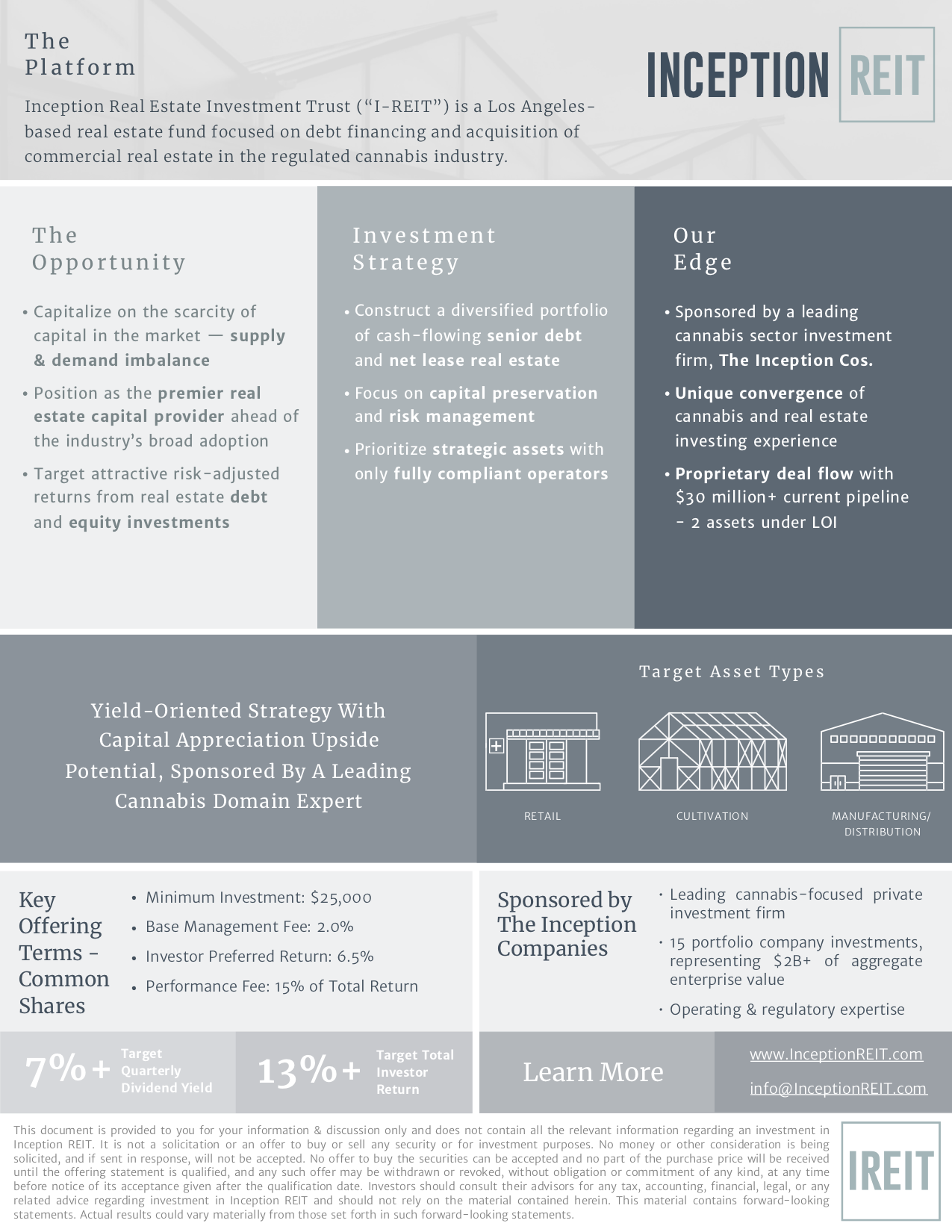 Inception REIT One Pager.png