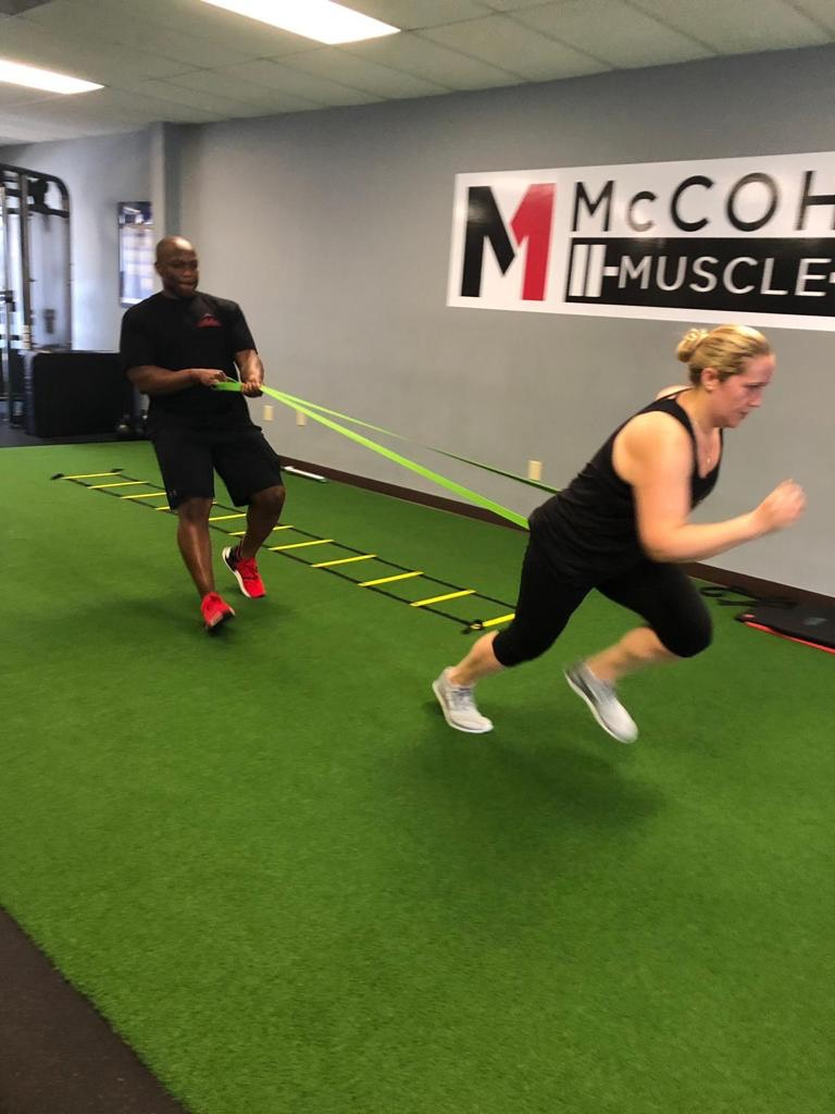 Jessica DelRe Review of McCohn Muscle Gym in Westerville, Ohio