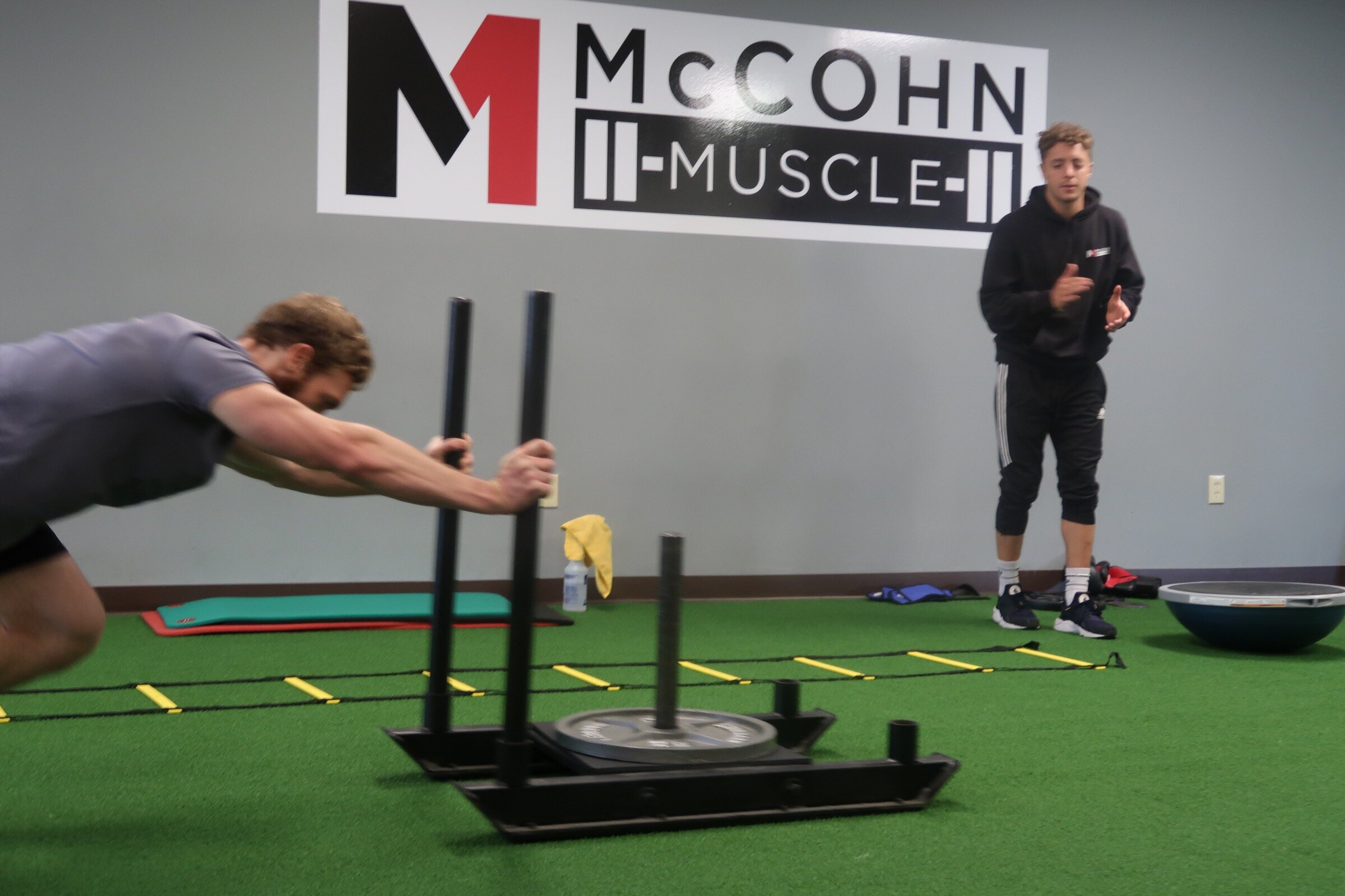 Matt Water's is a personal fitness trainer at McCohn Muscle in Worthington, Ohio.