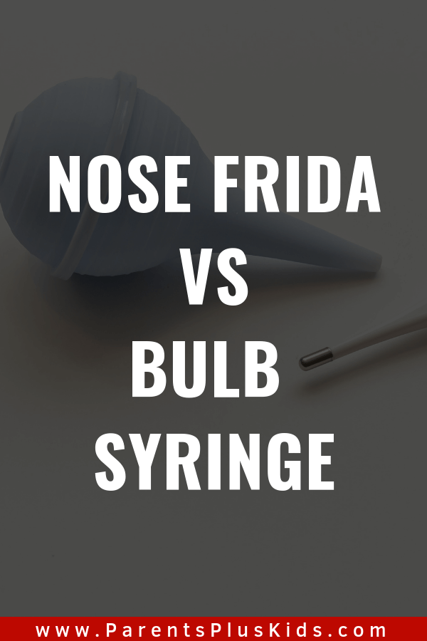 Baby product review. Nose frida vs. bulb syringe.
