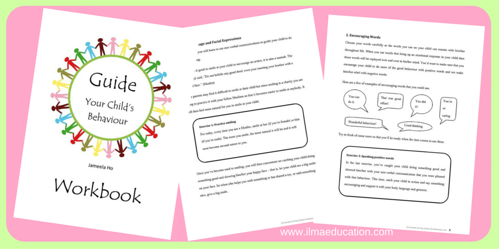 Guide Your Child's Behaviour Workbook
