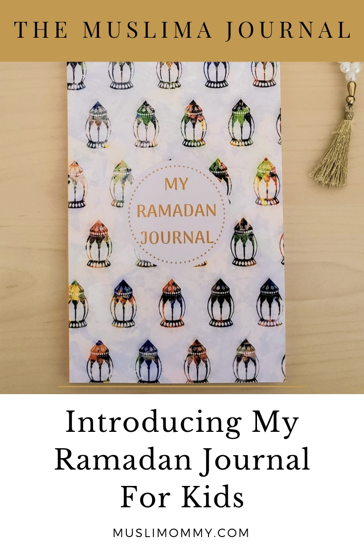 My Ramadan Journal For Kids Pin