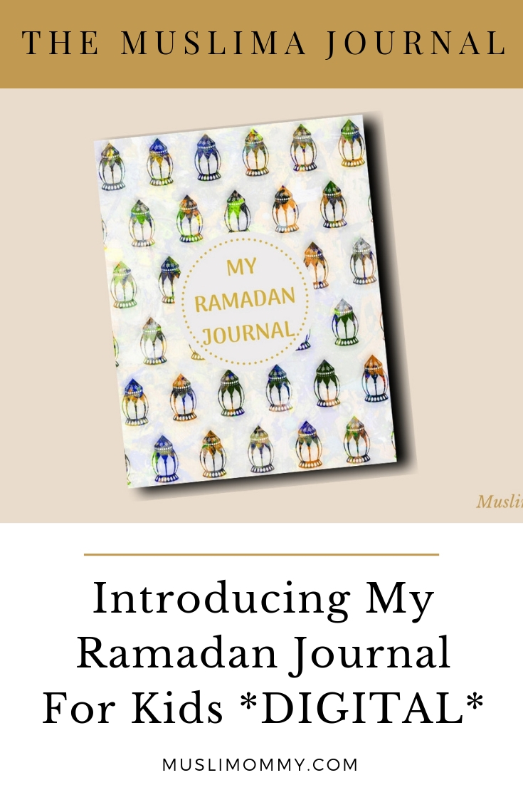 My Ramadan Journal Digital For Kids