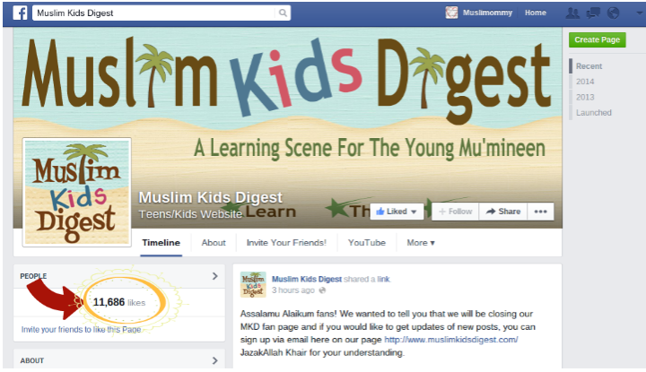 Muslimommy Facebook Page