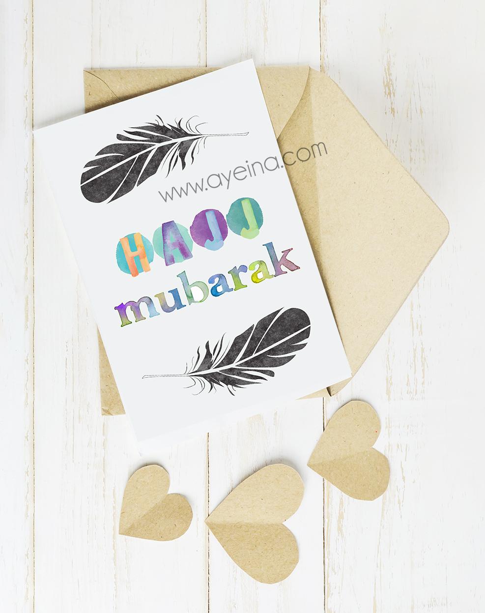 Hajj Card freebie