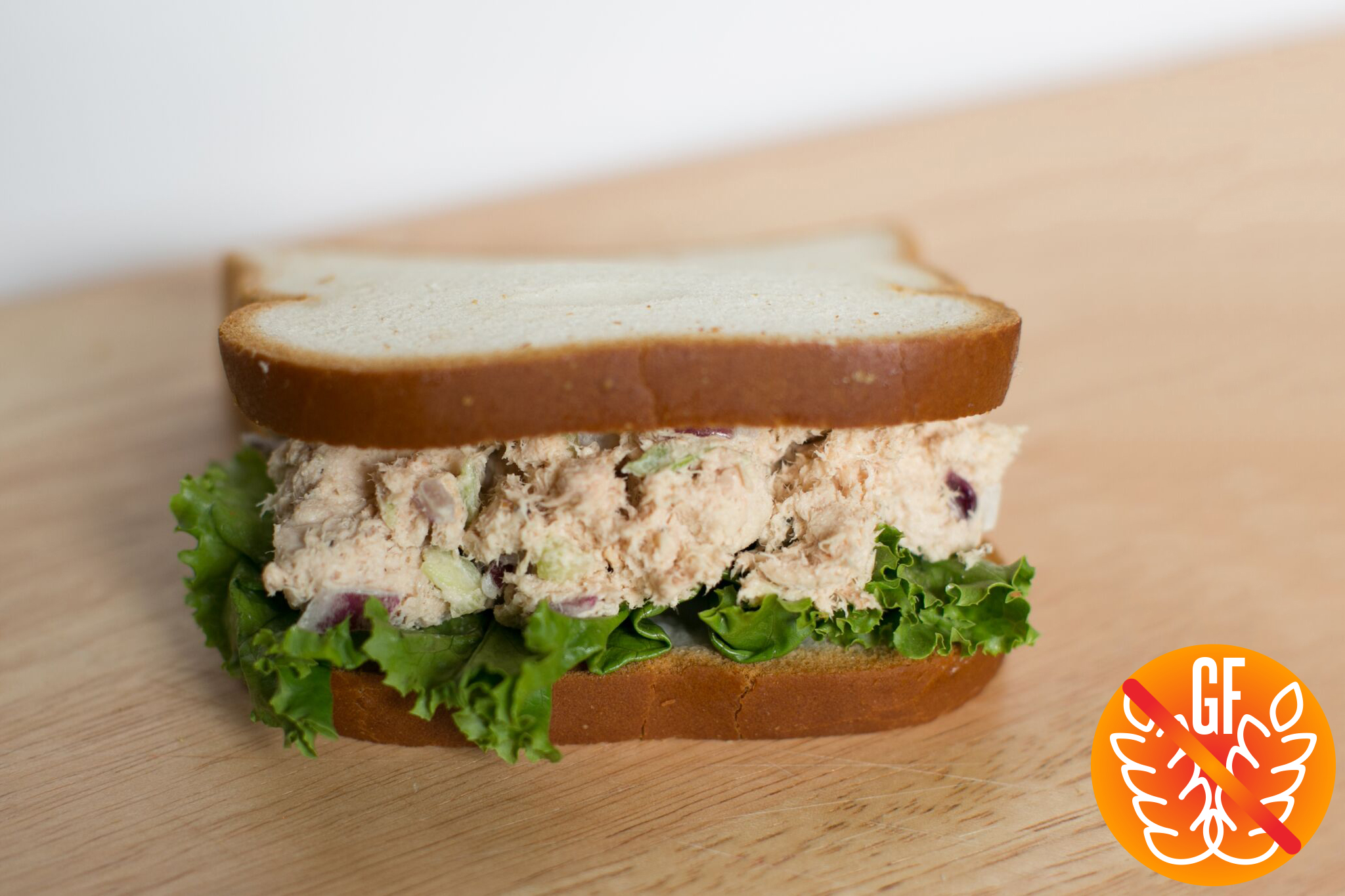 Tuna Salad on Gluten-Free Bread .jpg