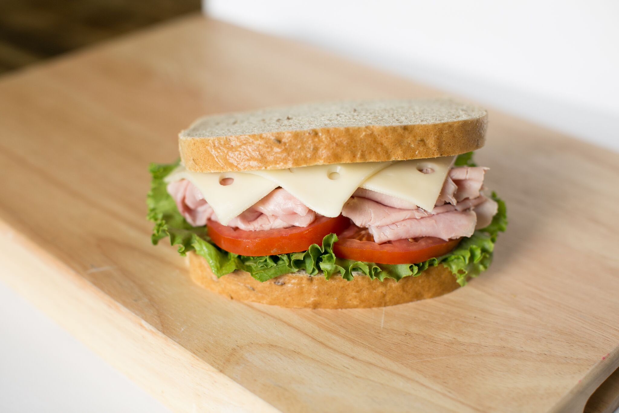 Black Forest Ham and Swiss on Seeded Rye.jpg