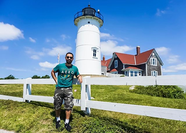 Good day at the Cape yesterday #capecod #falmouth #lighthouse #summer #MA #mass #nobskalighthouse