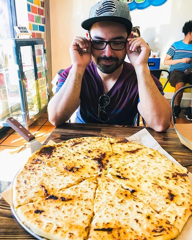 "@lapupusadtla 's""La Mamasota"" was definitely worth the drive. Will probably stop by again next time I am in LA. #lapupusadtla #LA #foodporn #food #instafood #LAfood #pupusas #california #cali #losangeles #travel #theweekend #foodie #foodiesofinstagram"