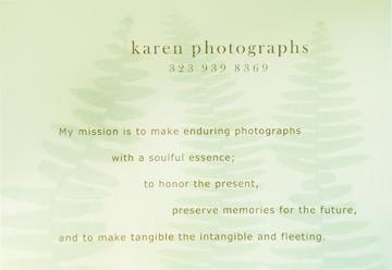 my mission statement written almost twenty years ago