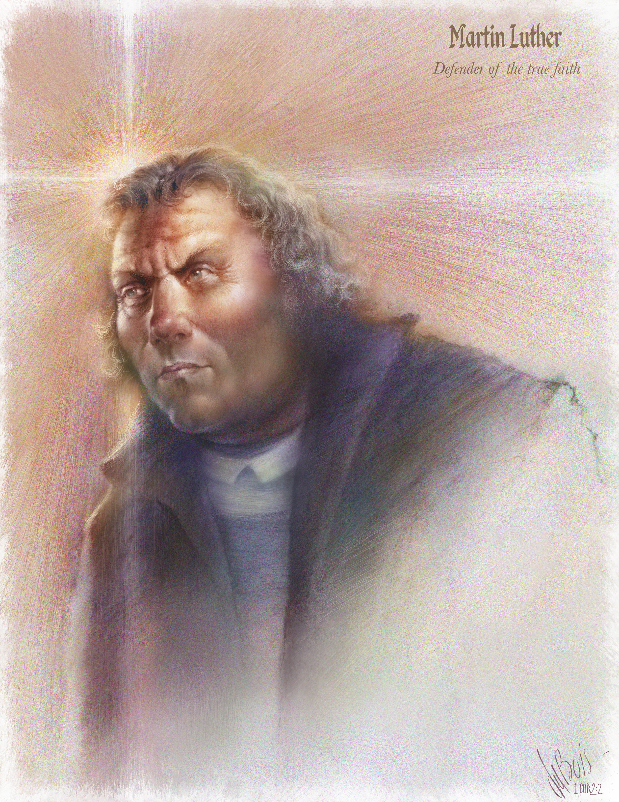 Luther - Defender of the True Faith