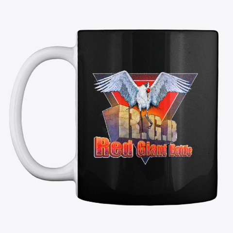 Red Giant Battle Logo Mug