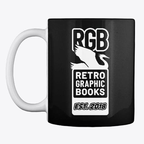 RETRO GRAPHIC BOOKS LLC LOGO MUG    $14.99