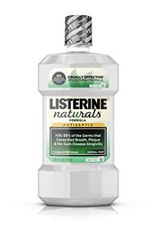 Clear Listerine naturals contains Thymol.