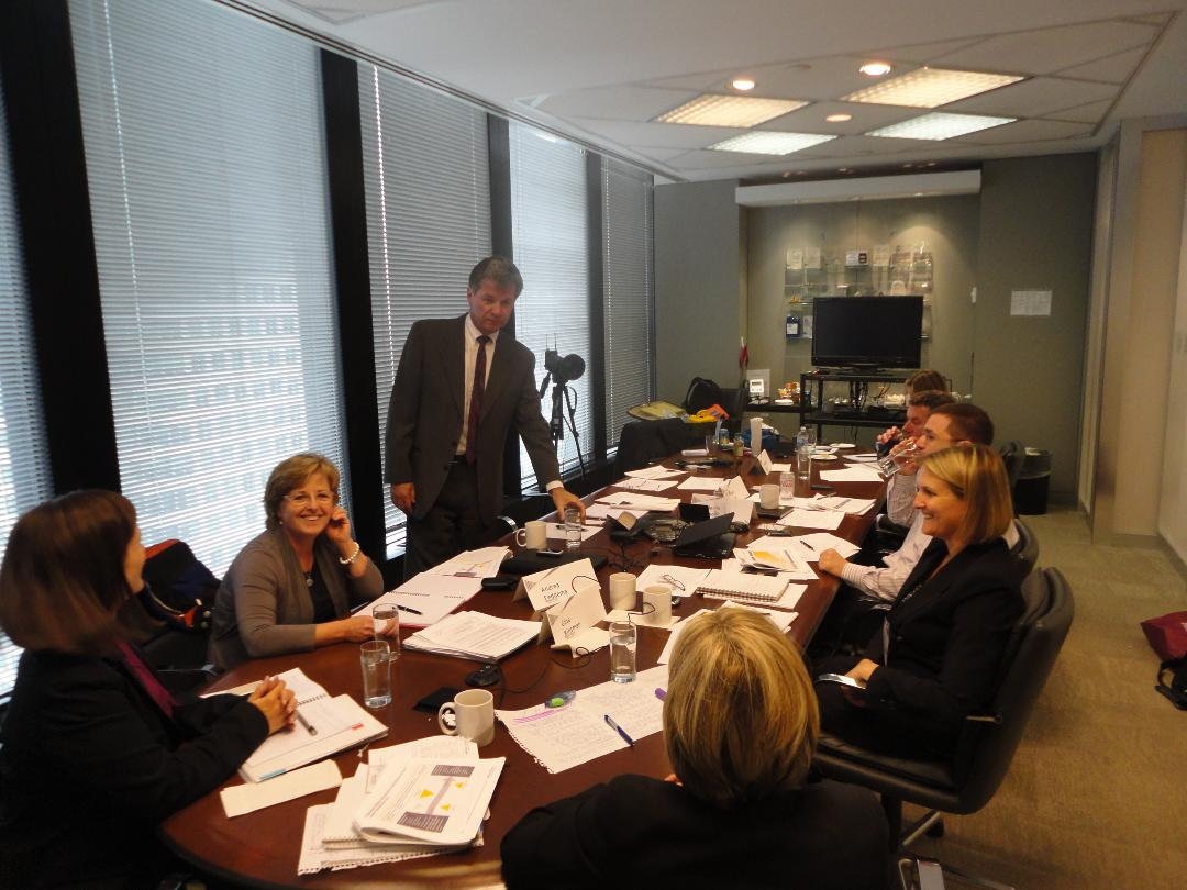 Our process can prepare you for boardroom presentations, speeches, media interviews, internal meetings, sales, new business development or any other communication situation.
