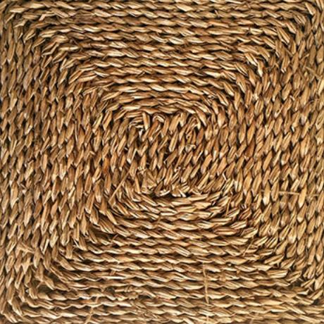 Seagrass Square   100% Seagrass. Width: 305 x 305mm/9