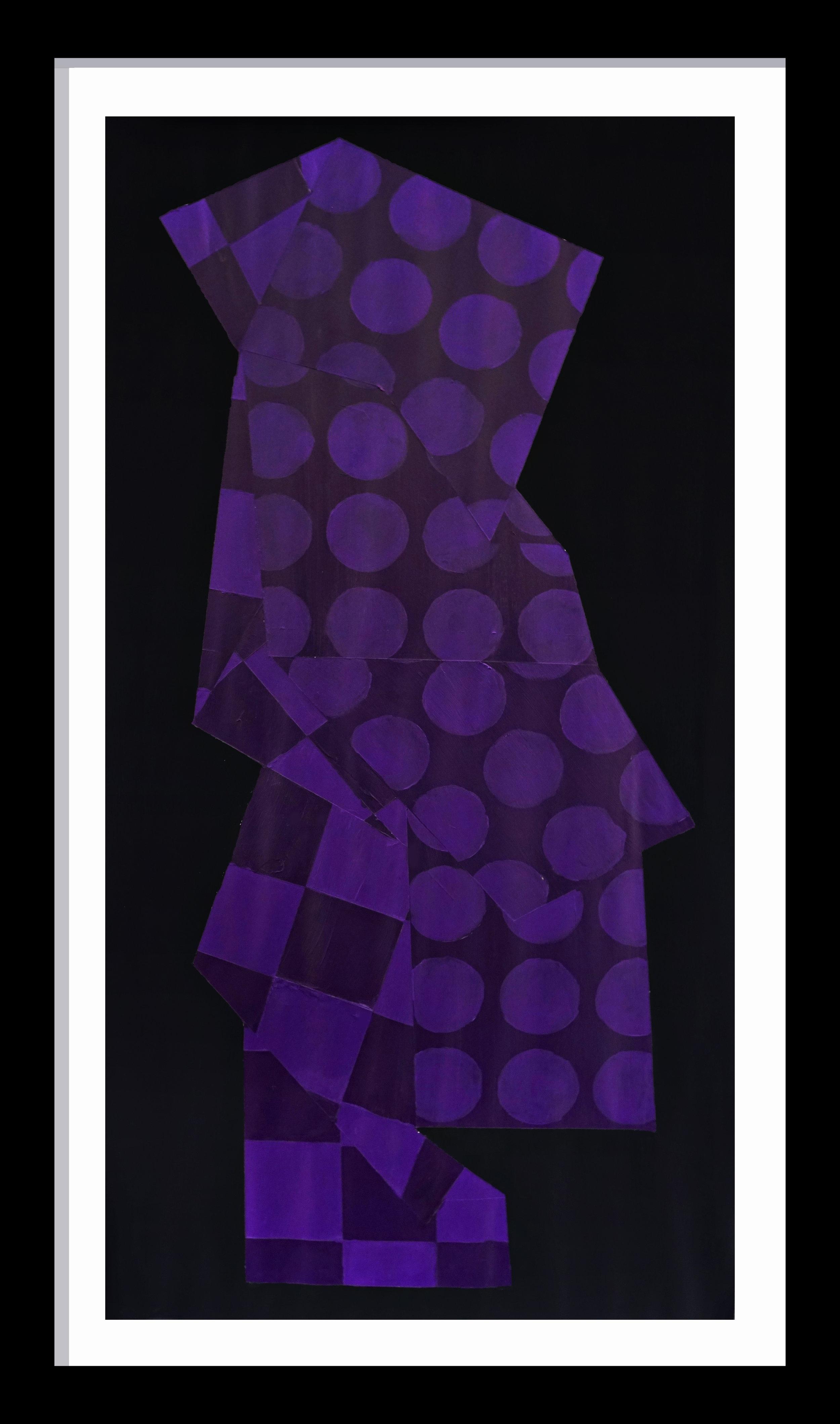 Violet Pattern NO. 2 (Pants)
