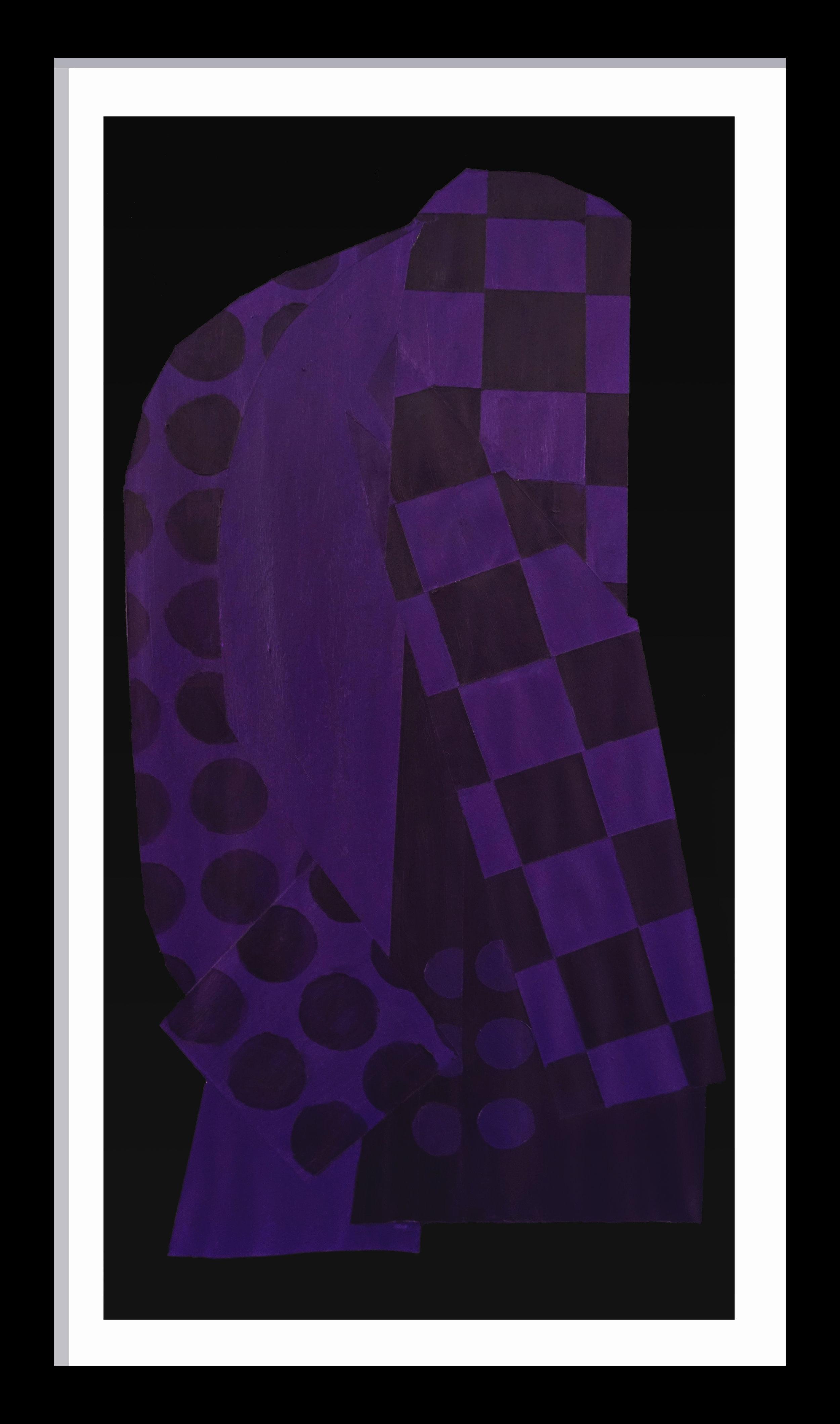 Violet Pattern NO. 1 (Jacket)
