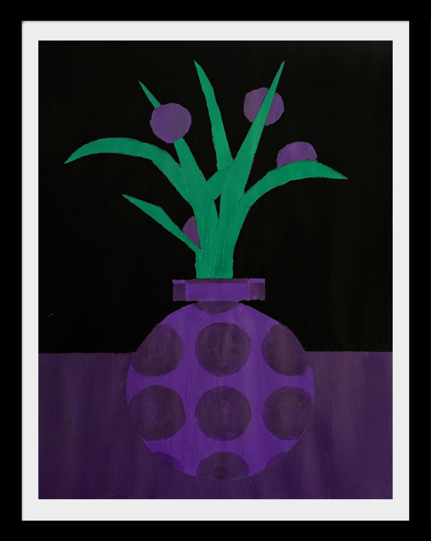 The Violet Still Life NO. 1