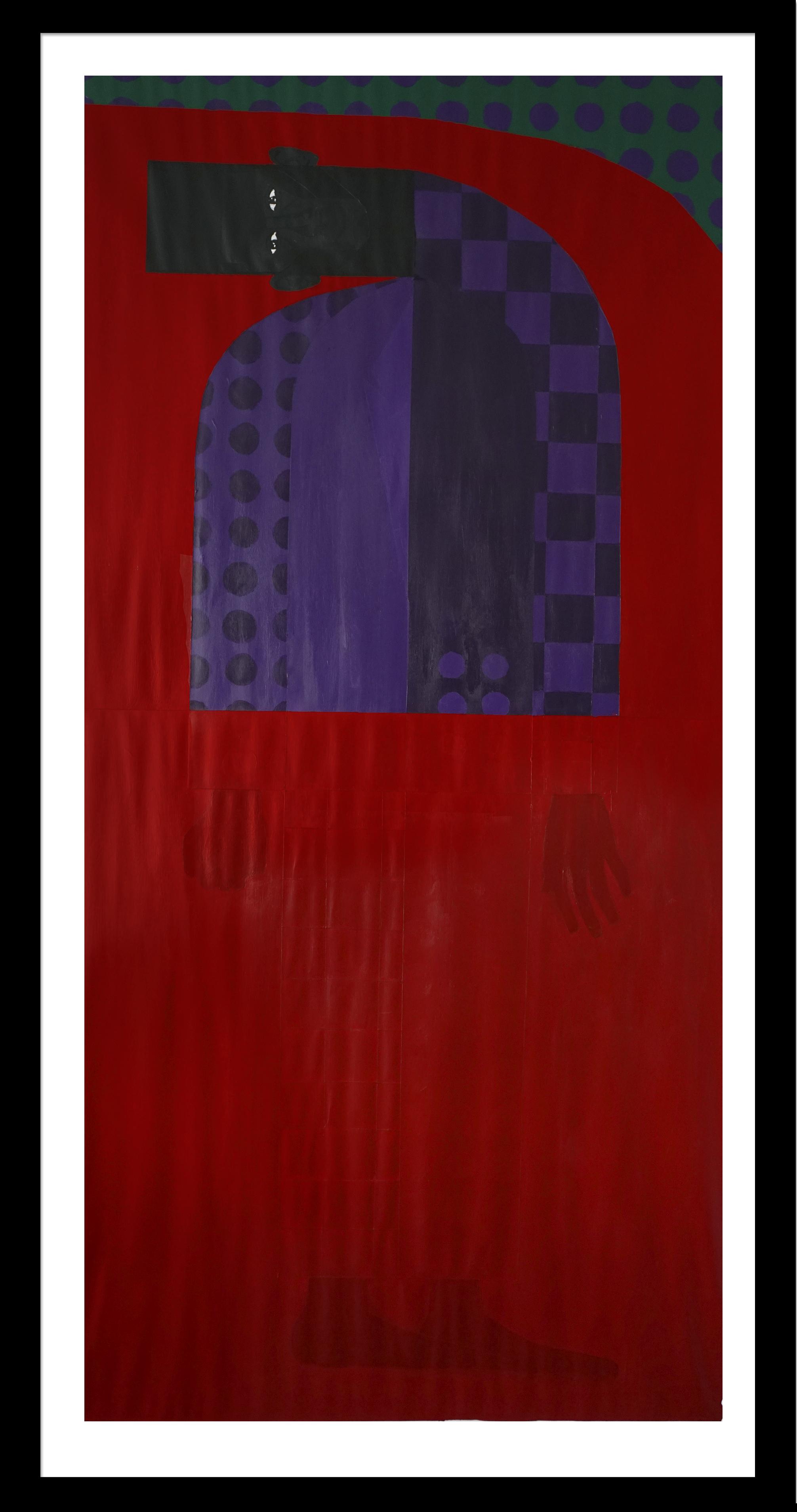 Violet Dreamscape No. 6 (Self-Baptism)